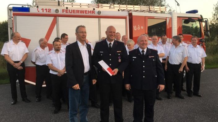 Glückwunsch an Kreisbrandmeister Mark Rücker